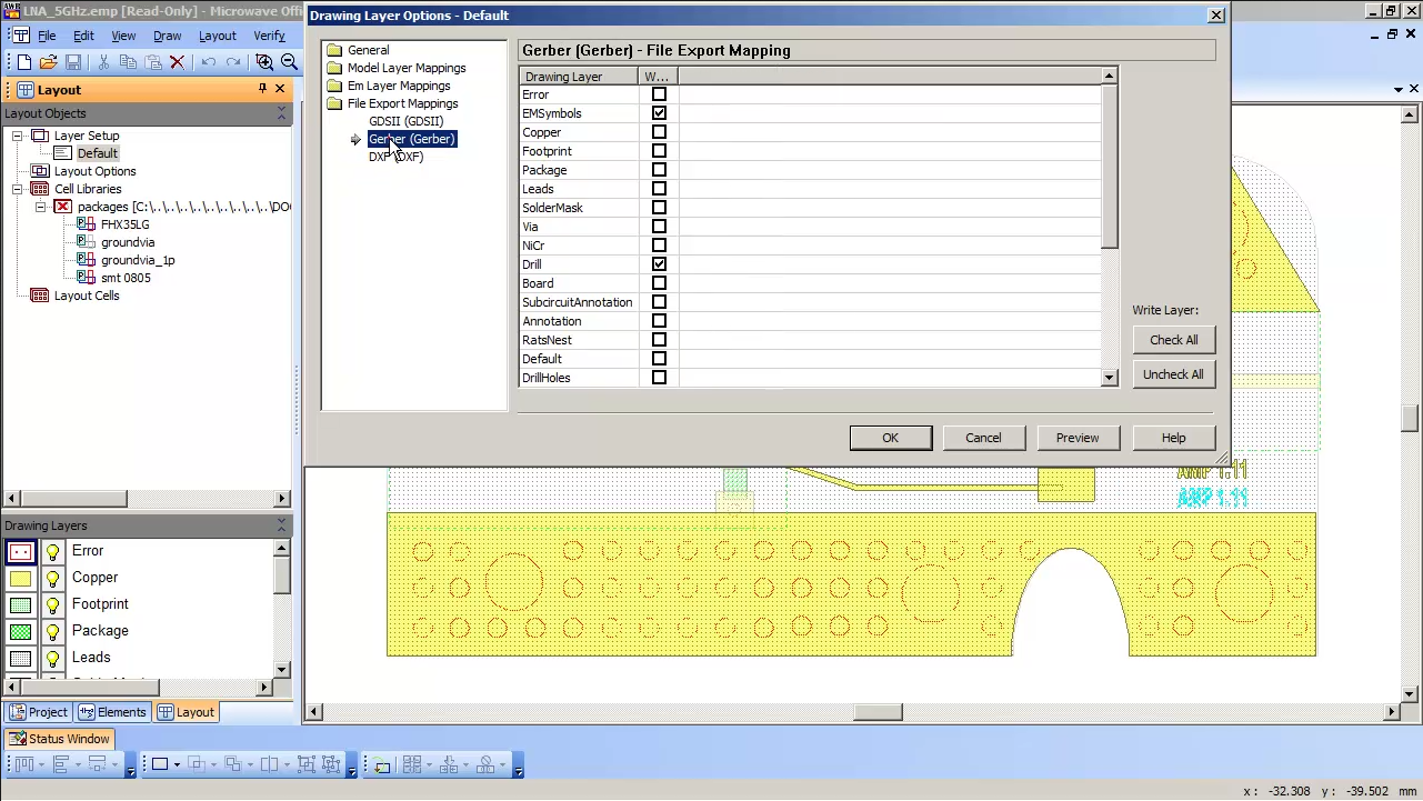 Exporting A Gerber File Help Awr Knowledgebase Files For Your Printed Circuit Board Design Online So Simple